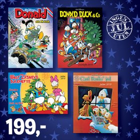 DONALD DUCK JULEHEFTER 2019
